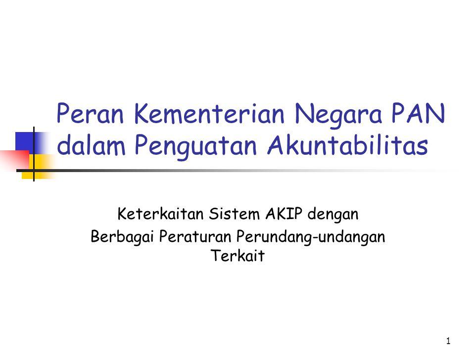 Peran Kementerian Negara PAN dalam Penguatan Akuntabilitas