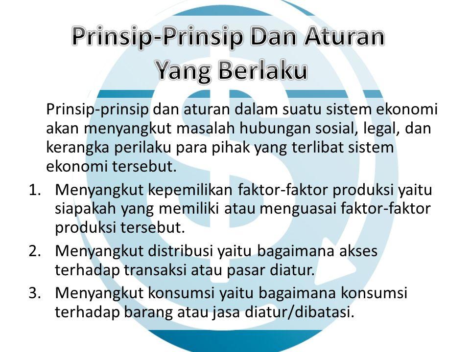 Prinsip-Prinsip Dan Aturan