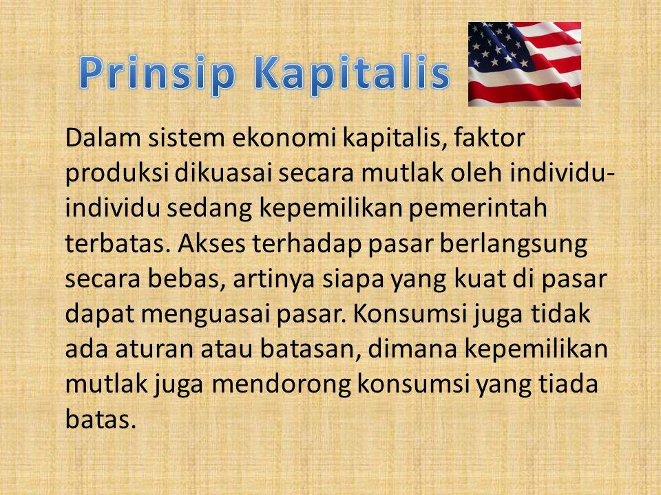 Prinsip Kapitalis