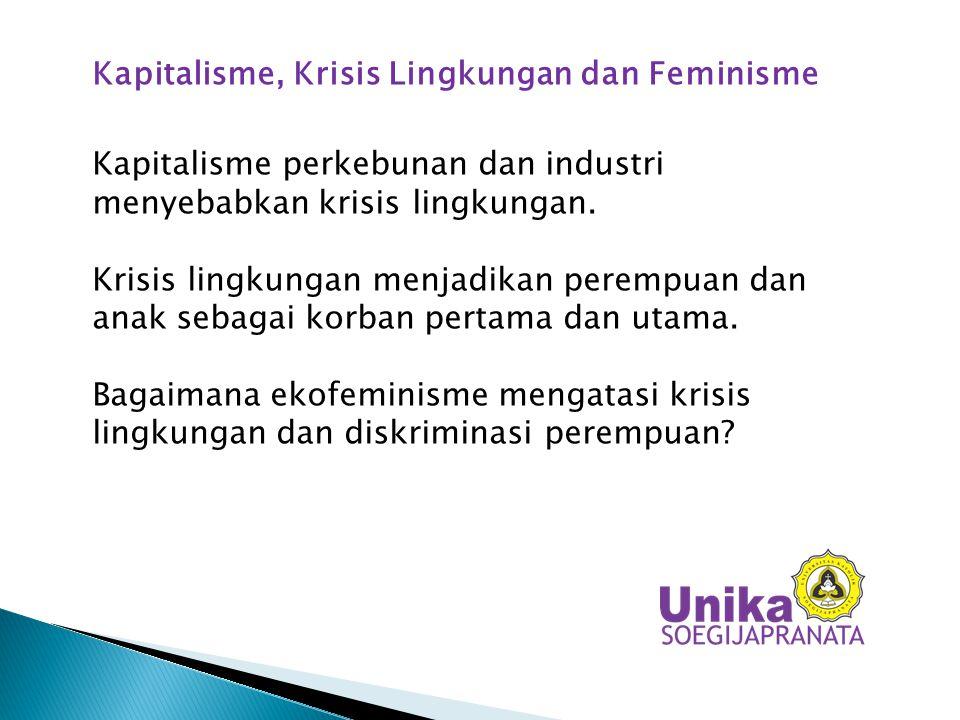 Kapitalisme, Krisis Lingkungan dan Feminisme