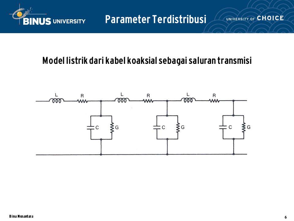 Parameter Terdistribusi