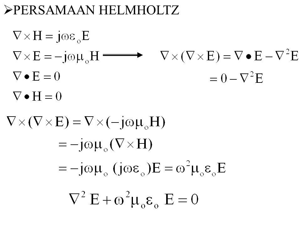 PERSAMAAN HELMHOLTZ