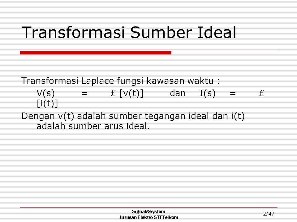 Transformasi Sumber Ideal