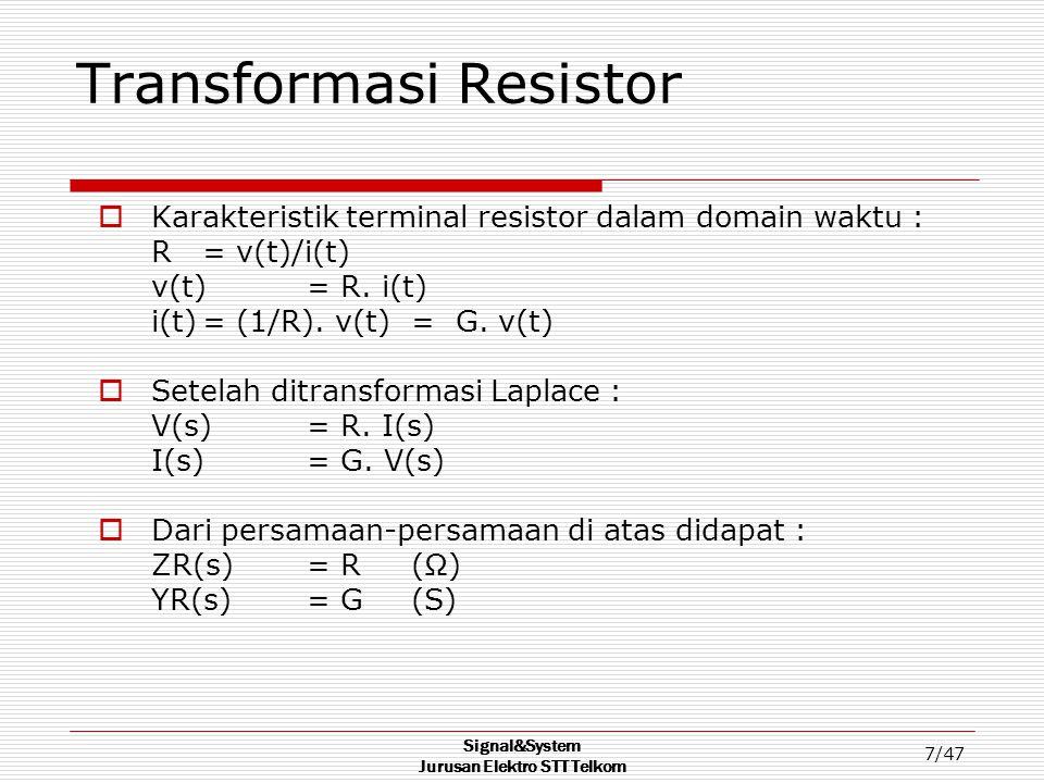 Transformasi Resistor