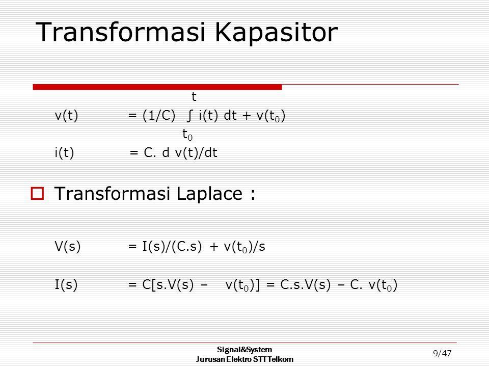 Transformasi Kapasitor