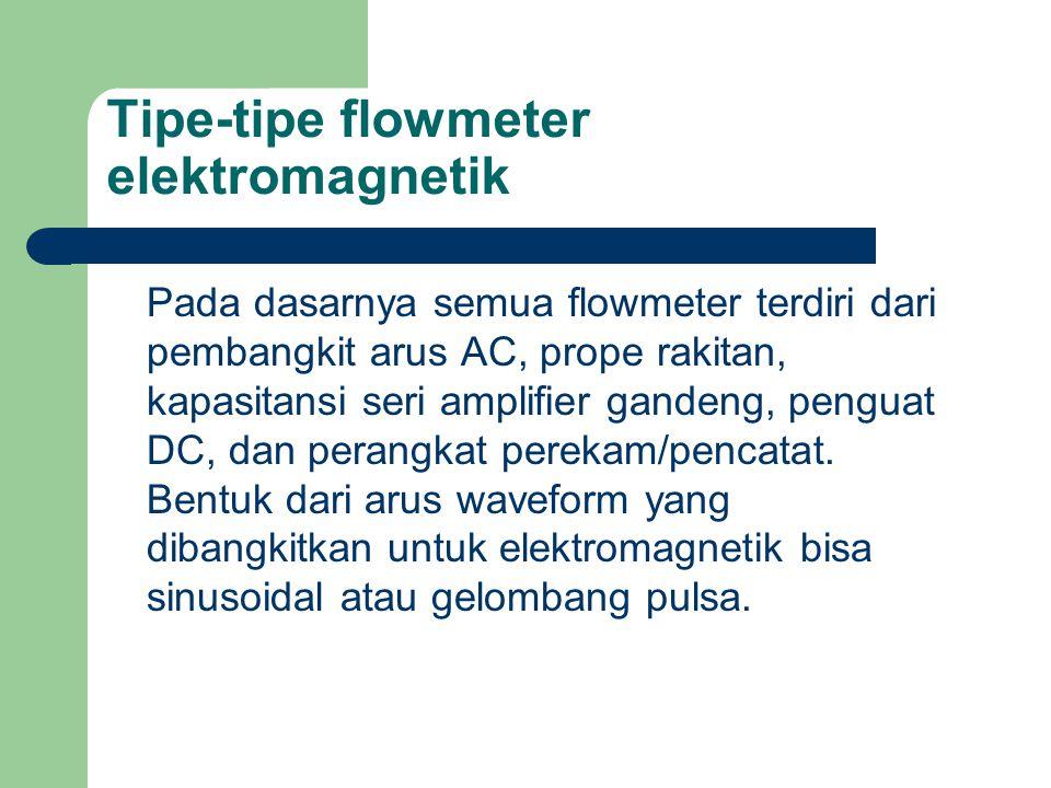 Tipe-tipe flowmeter elektromagnetik
