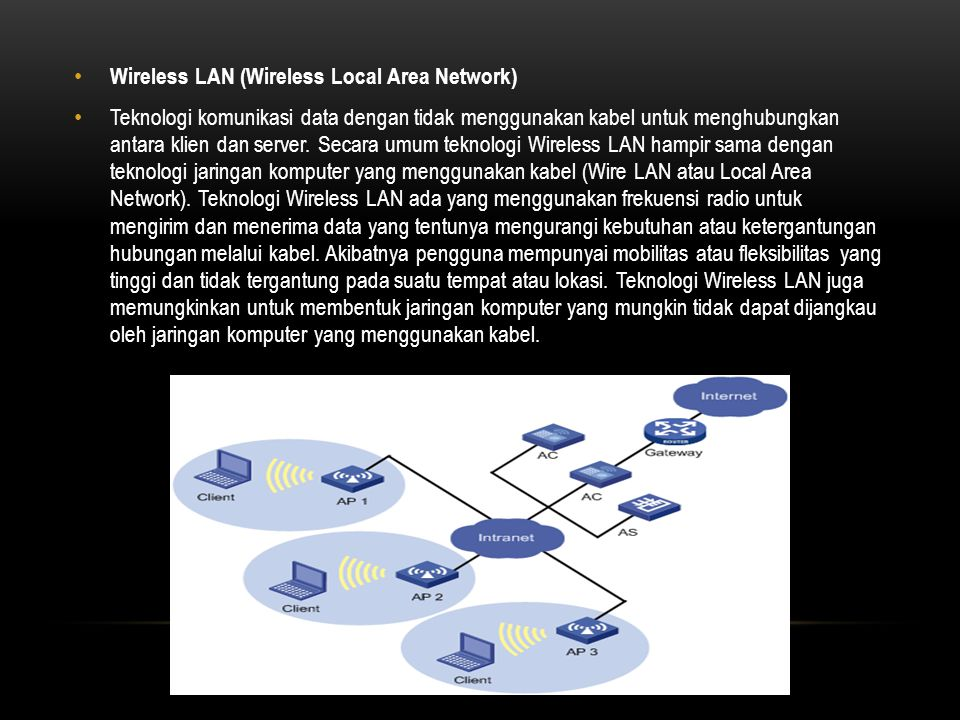 Wireless LAN (Wireless Local Area Network)