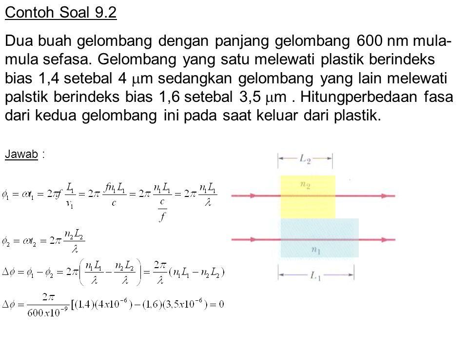 Contoh Soal 9.2