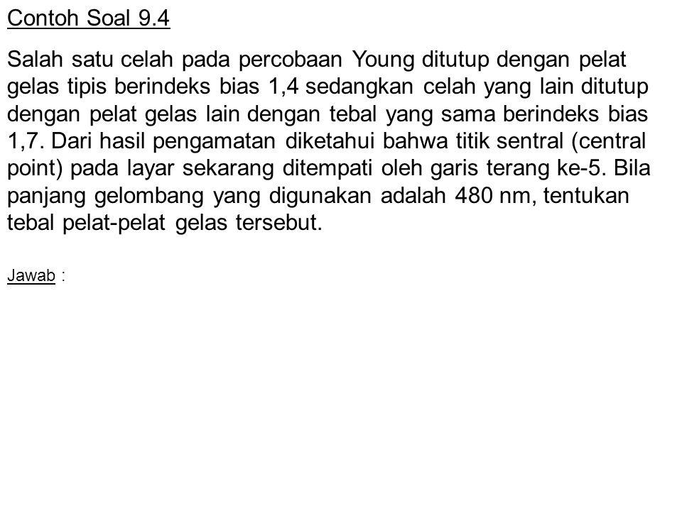 Contoh Soal 9.4