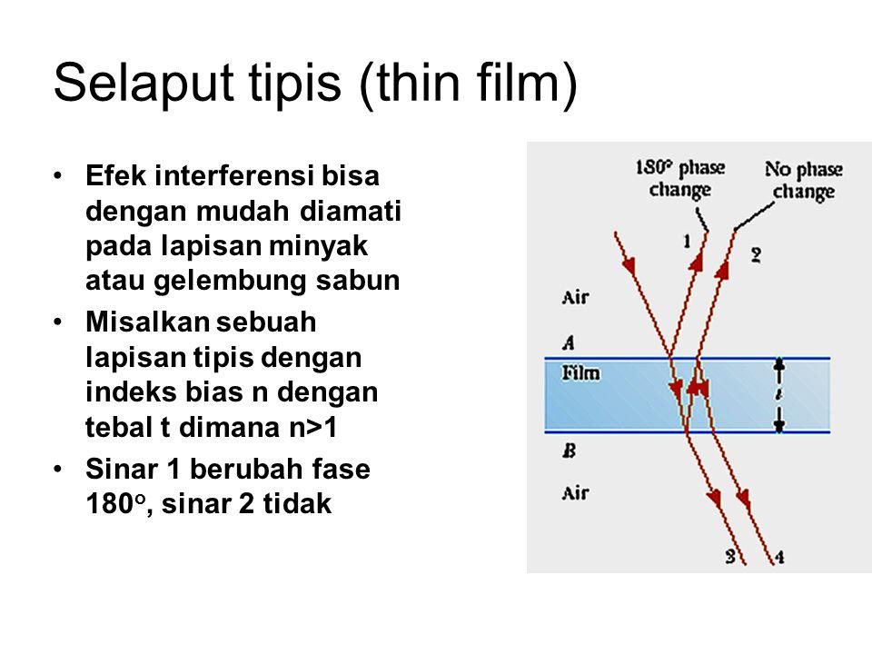 Selaput tipis (thin film)