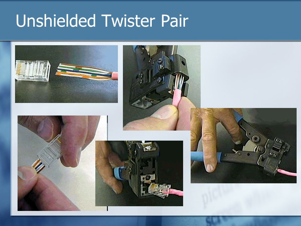 Unshielded Twister Pair