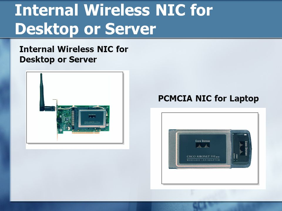Internal Wireless NIC for Desktop or Server
