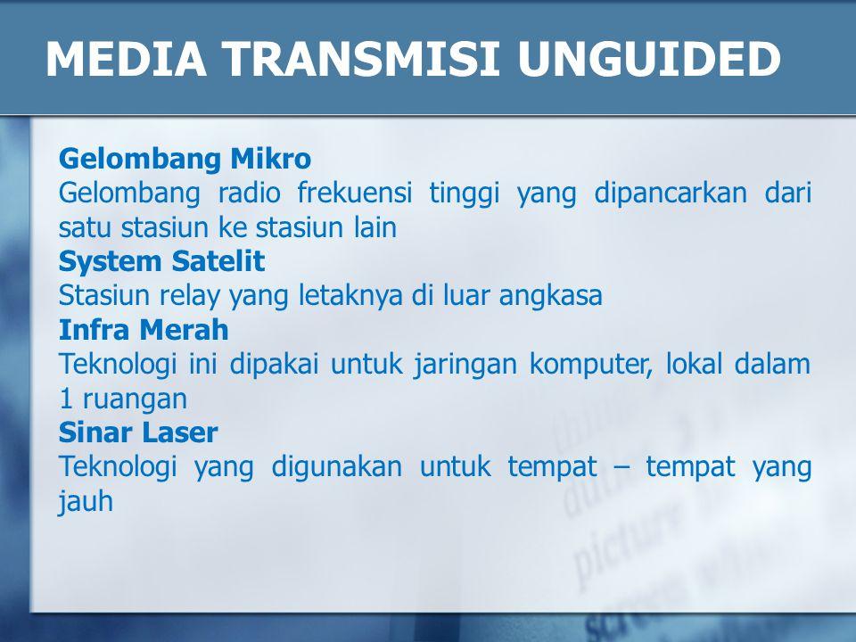 MEDIA TRANSMISI UNGUIDED