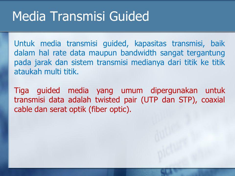 Media Transmisi Guided