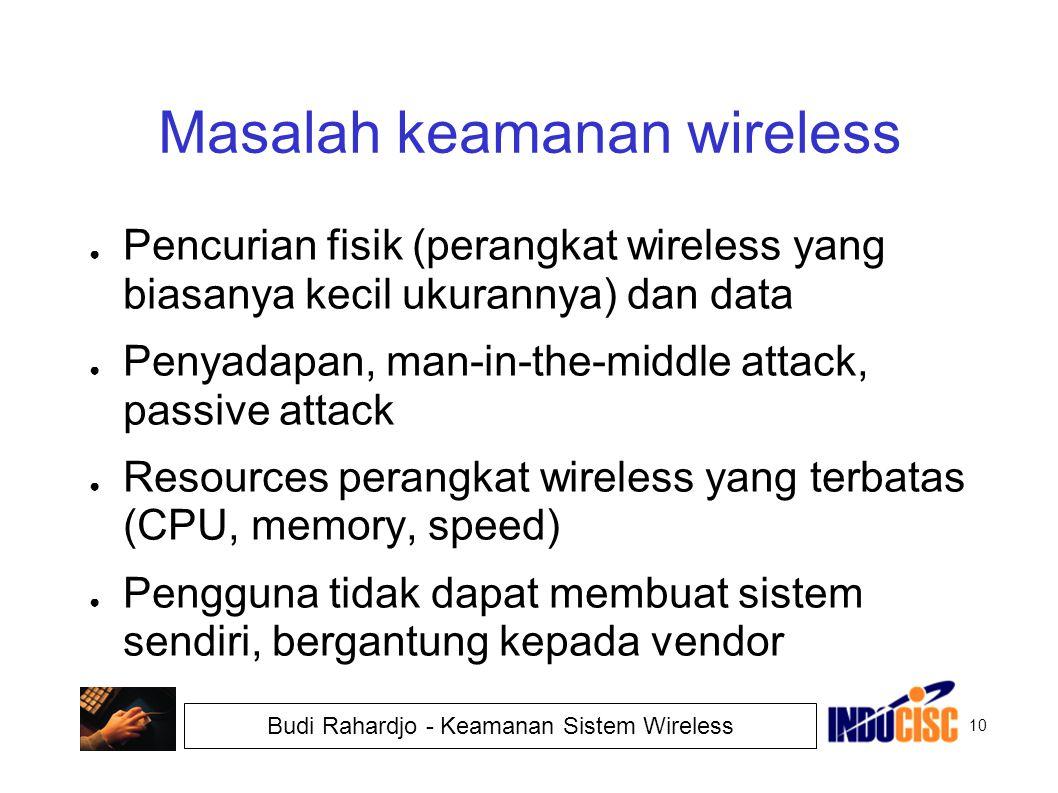 Masalah keamanan wireless