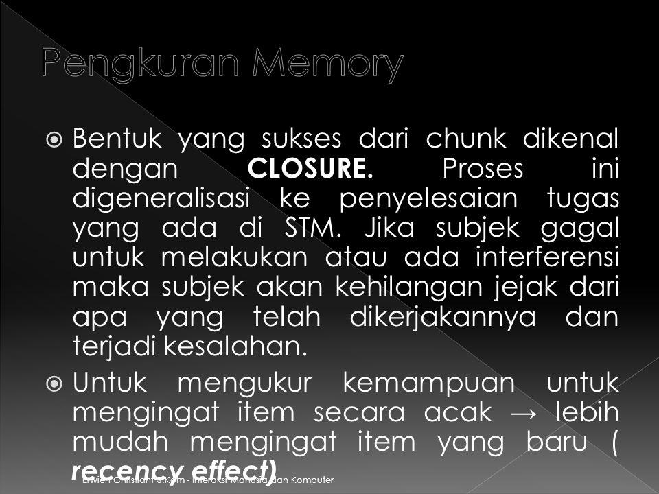 Pengkuran Memory