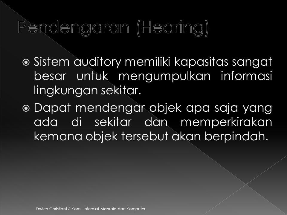 Pendengaran (Hearing)