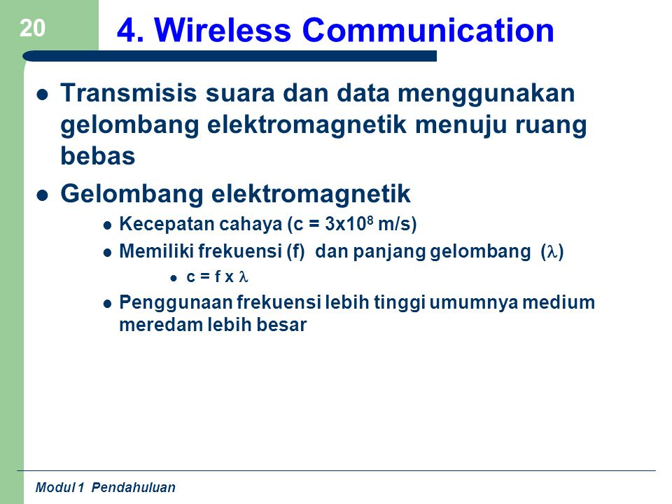4. Wireless Communication