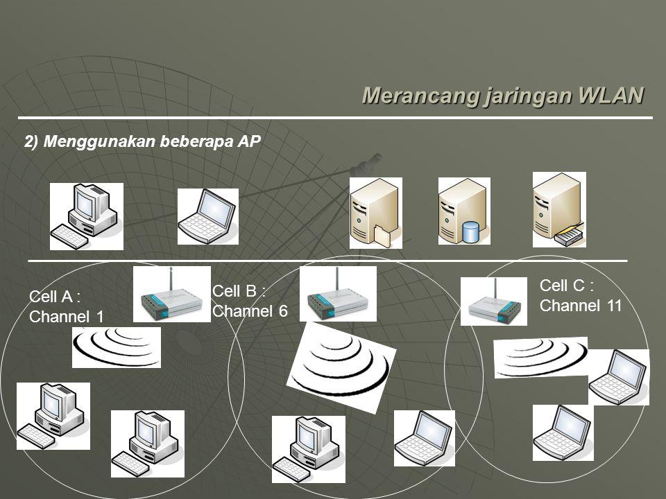 Merancang jaringan WLAN