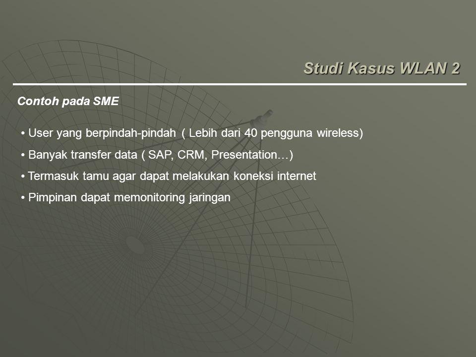 Studi Kasus WLAN 2 Contoh pada SME