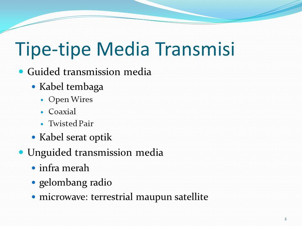 Tipe-tipe Media Transmisi