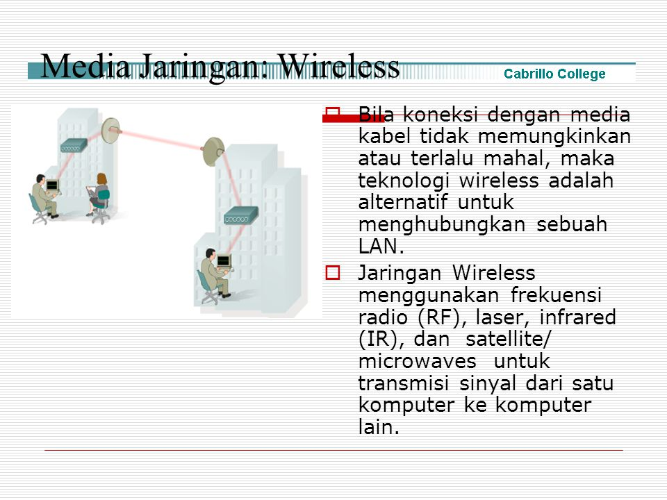 Media Jaringan: Wireless