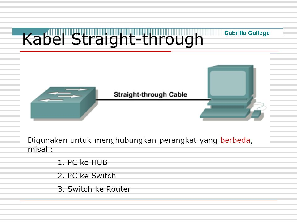 Kabel Straight-through