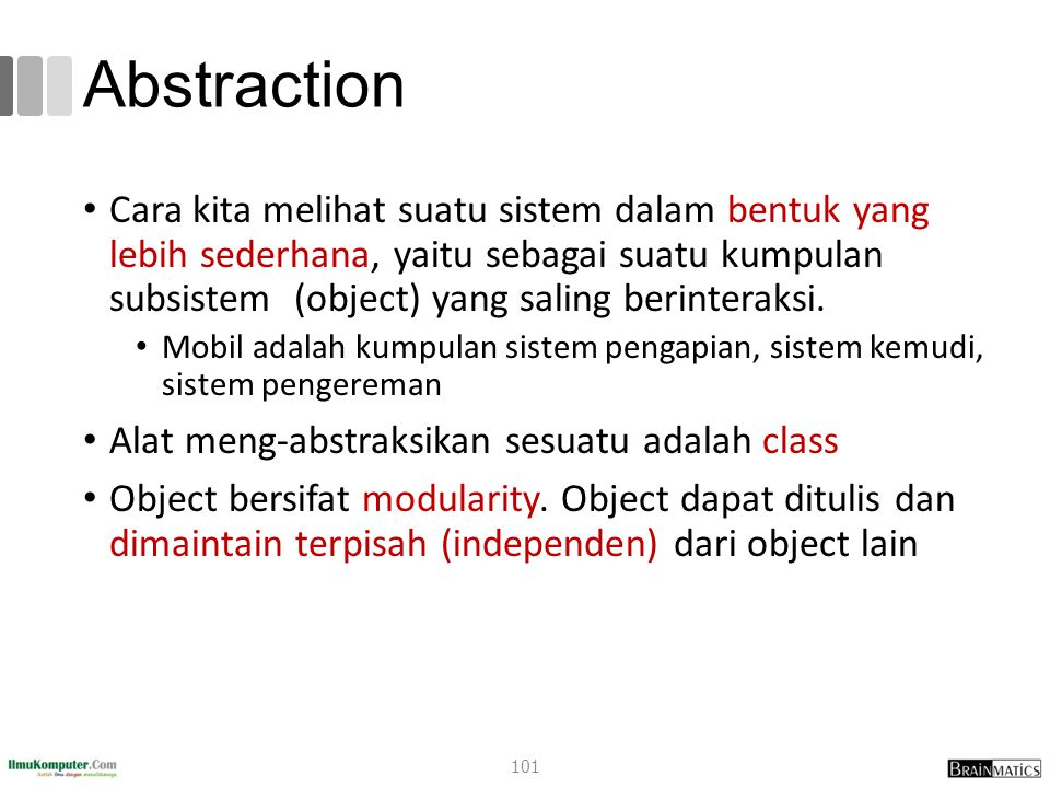 romi@romisatriawahono.net Object-Oriented Programming. Abstraction.