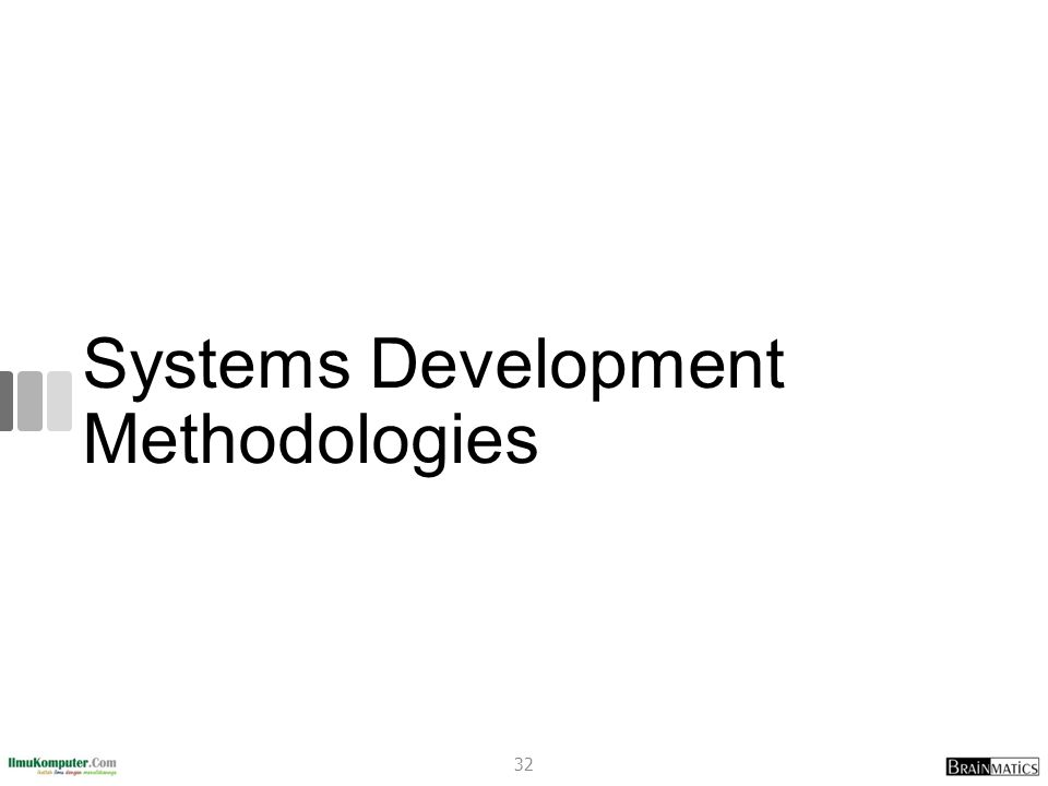 Systems Development Methodologies