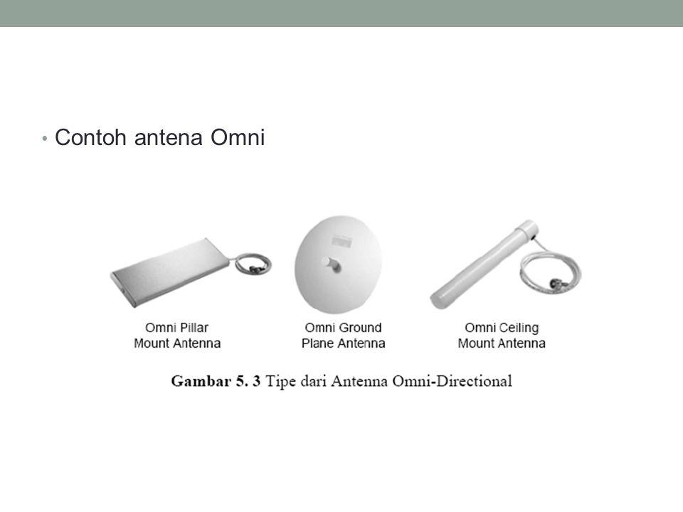 Contoh antena Omni
