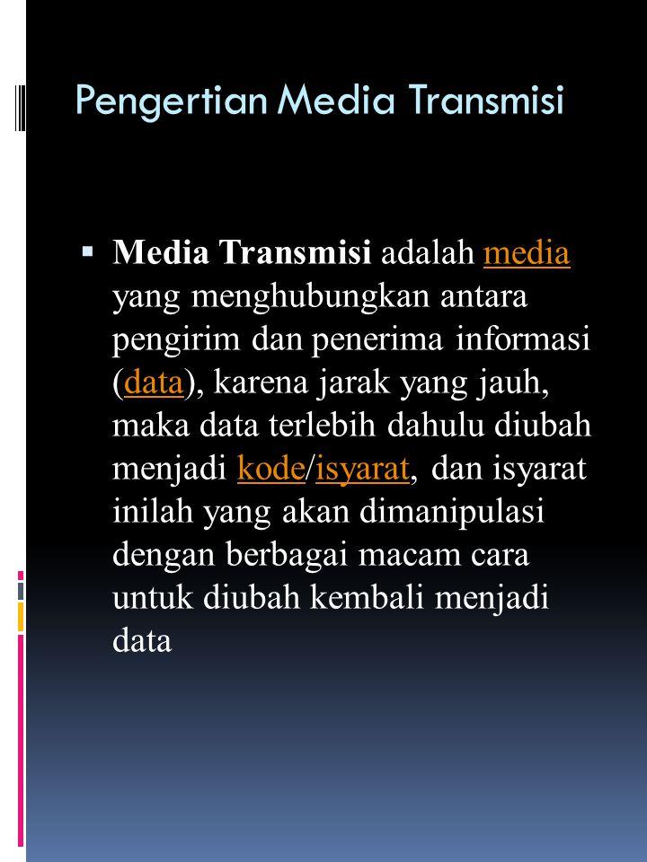 Pengertian Media Transmisi
