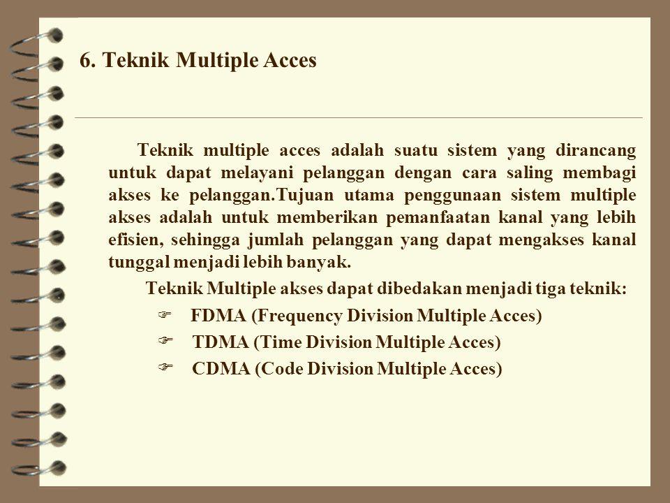 6. Teknik Multiple Acces