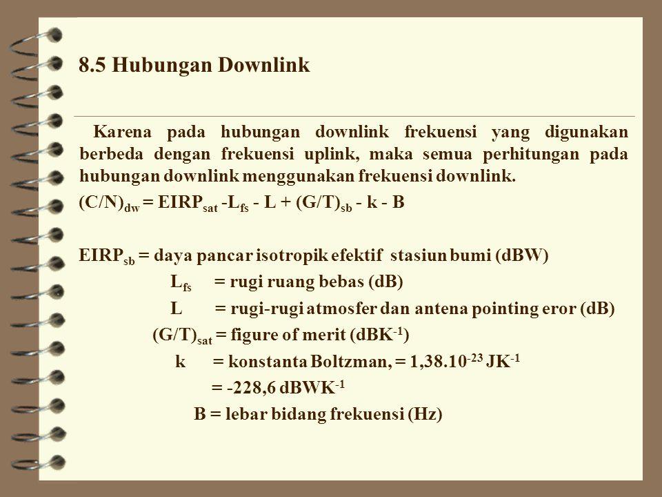 8.5 Hubungan Downlink