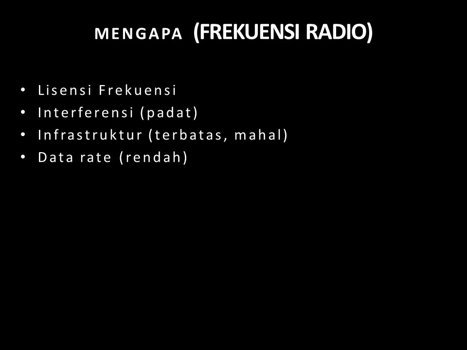 MENGAPA (FREKUENSI RADIO)