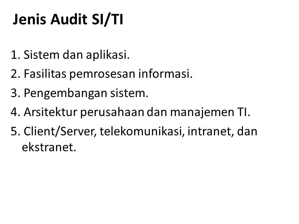 Jenis Audit SI/TI