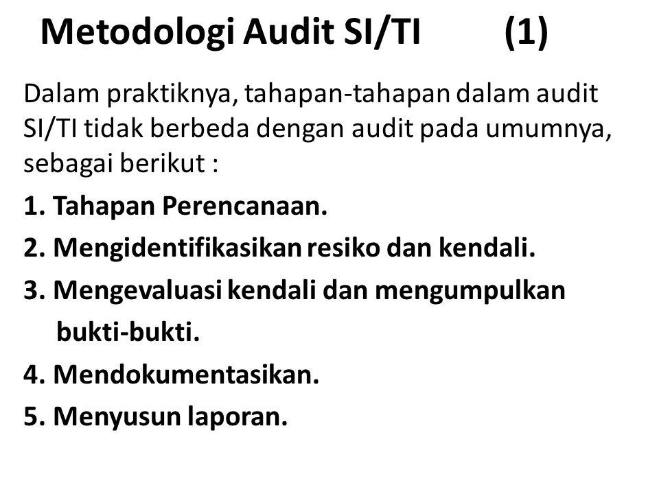 Metodologi Audit SI/TI (1)