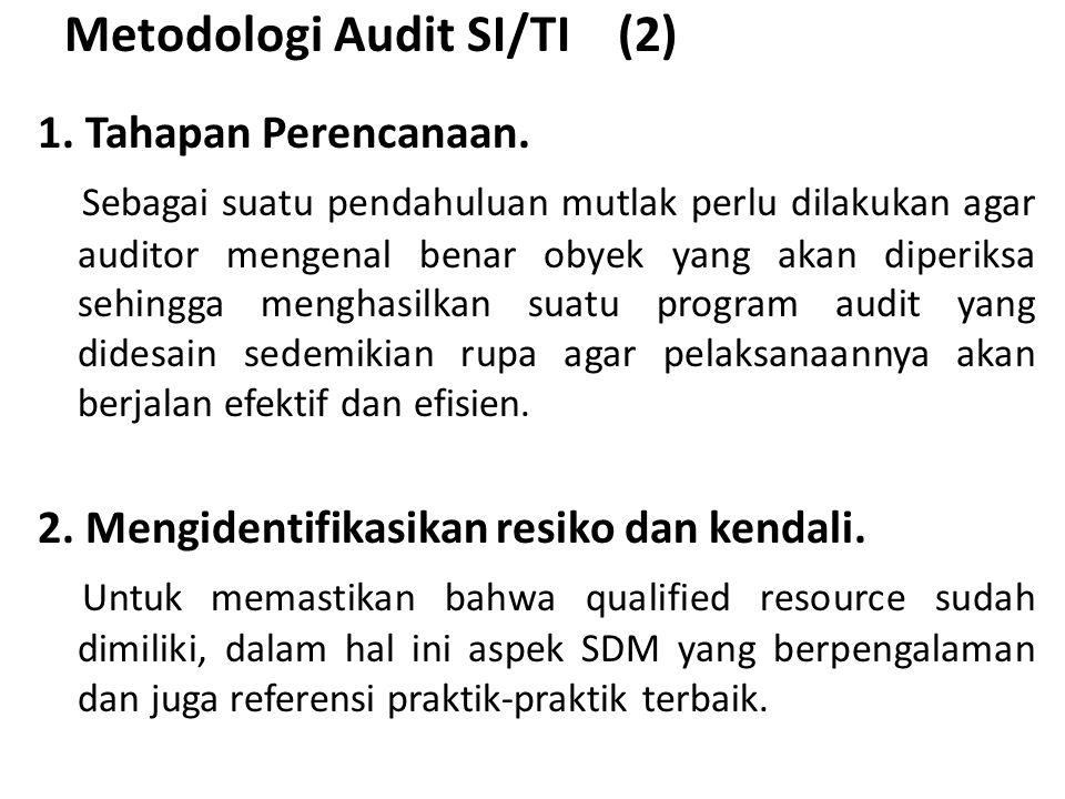 Metodologi Audit SI/TI (2)