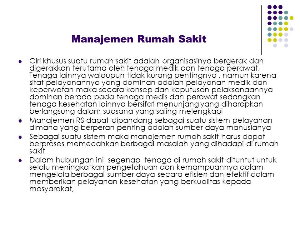 Manajemen Rumah Sakit