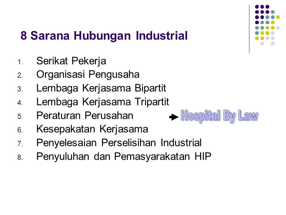 8 Sarana Hubungan Industrial