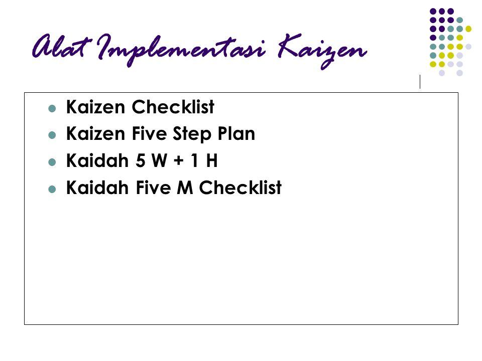 Alat Implementasi Kaizen