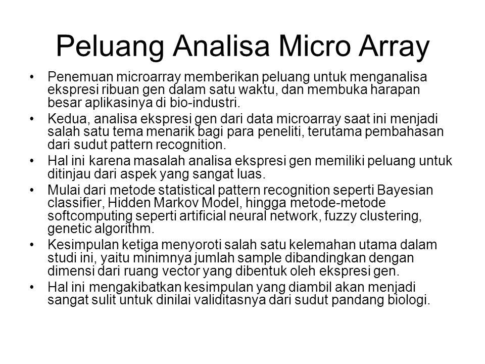 Peluang Analisa Micro Array