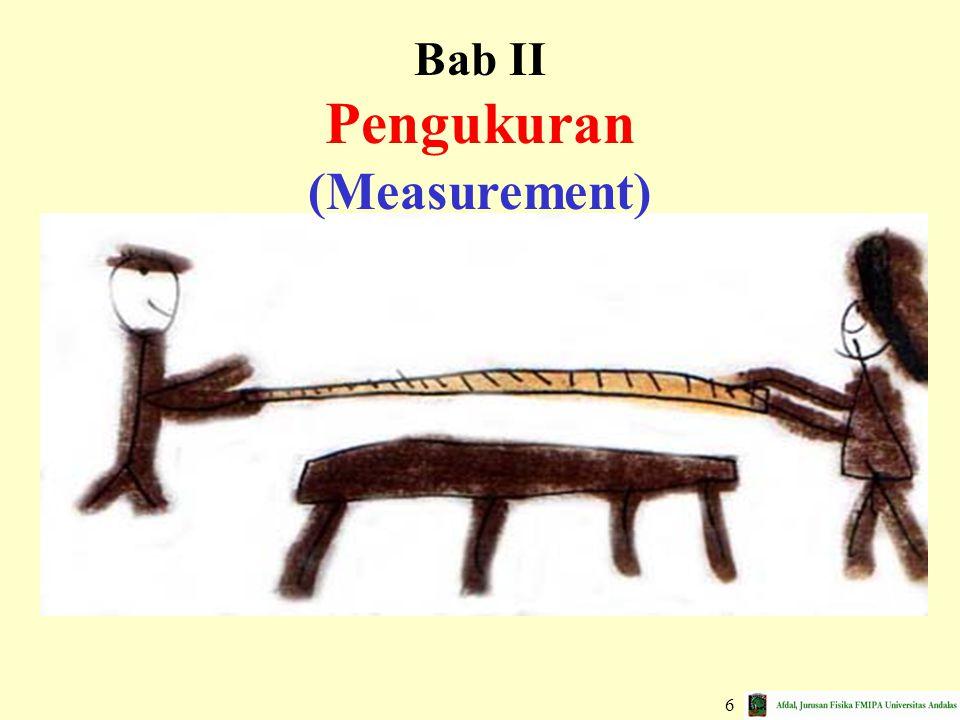 Bab II Pengukuran (Measurement)