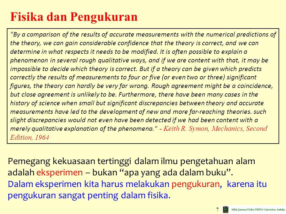 Fisika dan Pengukuran