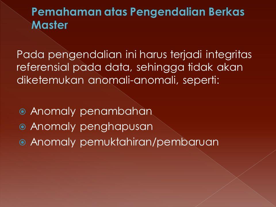 Pemahaman atas Pengendalian Berkas Master