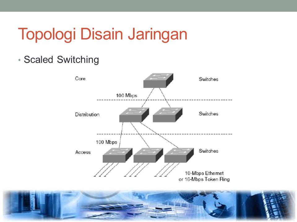 Topologi Disain Jaringan