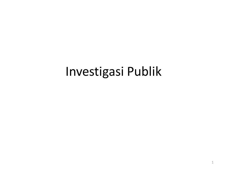 Investigasi Publik