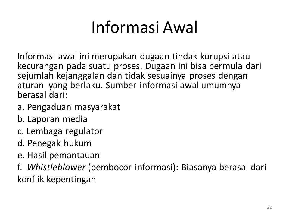 Informasi Awal