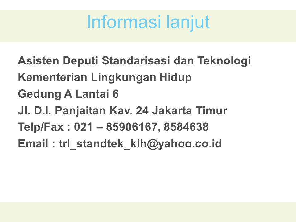 Informasi lanjut