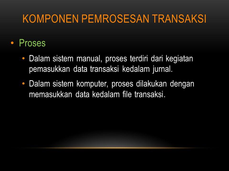 Komponen pemrosesan transaksi