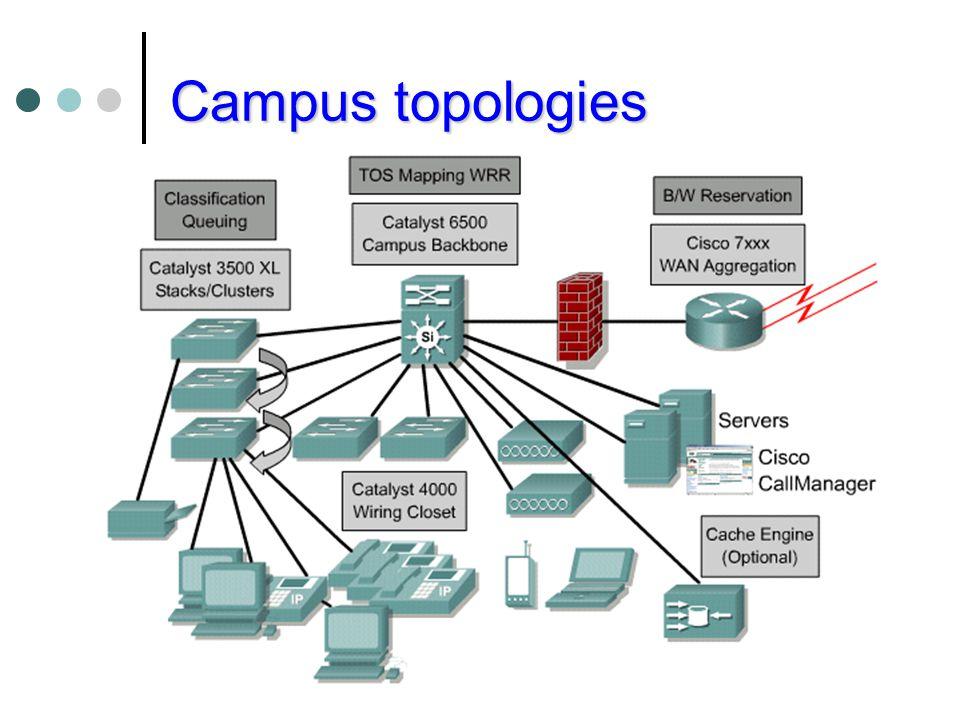 Campus topologies